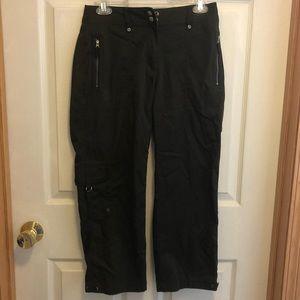 Chico's Army Green Nylon Pants, Size 0